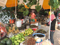 fruit sold in street